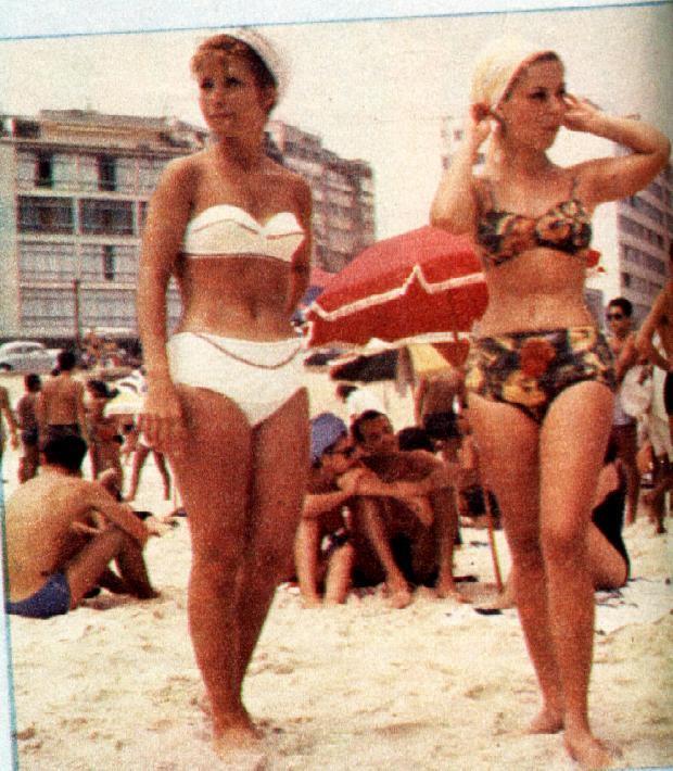 Moda praia durante as d cadas coisas da luluh - Musica anos 50 americana ...